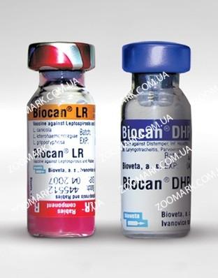 Biocan (Биокан) DHPPI + LR , Bioveta вакцина для собак
