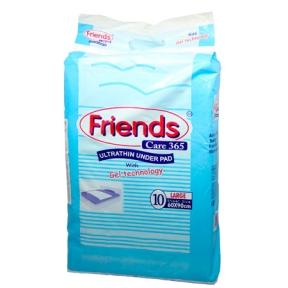Пеленки 60*60 Friends целлюлоза+силикон, 20 штук, M 231236