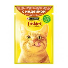 Алюпуч NEW консервы для кошек индейка в подливе 85г