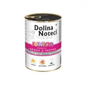 Кон-ва DN Premium PUPPY(60%) для щенков  с индюшиным сердцем  400гр