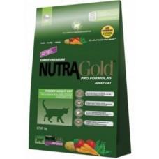 Nutra Gold Adult Cat Hairball Control сбалансированный корм для кошек
