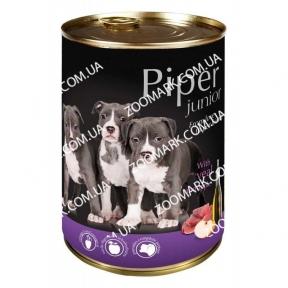 DN Piper Junior Dog с телятиной и яблоком 400 гр