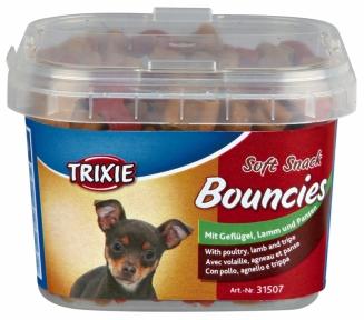 Soft Bits Esguisita Baffos — мягкая закуска для собак с говядиной и рубцом, Трикси 31507
