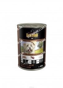 Belcando Отборное мясо/Печень (коричневый) консервы для собак