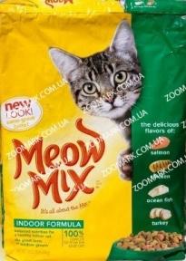 Meow Mix Indoor сухой корм для кошек  6,44кг