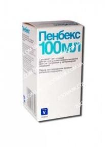 Пенбекс — комплексный антибактериальный препарат 100 мл