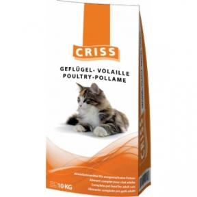 CRISS Домашняя птица сухой корм для котов