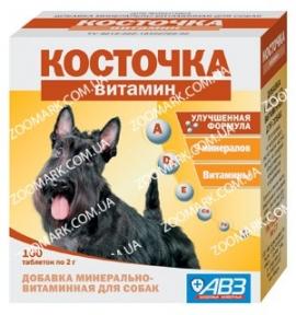 Косточка Витамин — Минерально-витаминная добавка для собак