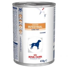 Royal Canin Gastro-Intestinal Low Fat (Роял Канин ГАСТРО ИНТЕСТИНАЛ ЛОУ ФЕТ) консервы для собак 410 г