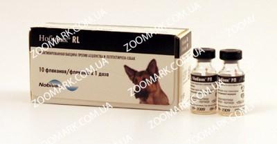Нобивак RL вакцина против бешенства и лептоспироза собак, Intervet