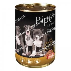 DN Piper Junior Dog с куриными желудками и рисом 400 гр