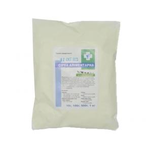 Сера минеральная — очищенная натуральная кормовая добавка 100 гр