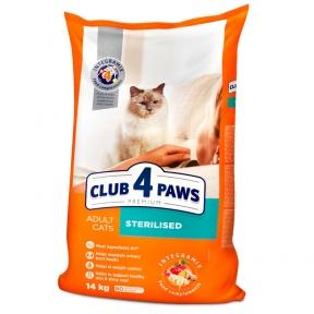 Клуб 4 лапы для стерилизованных кошек 11 кг