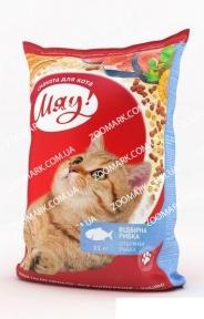 Мяу! Рыба сухой корм для кошек 11 кг