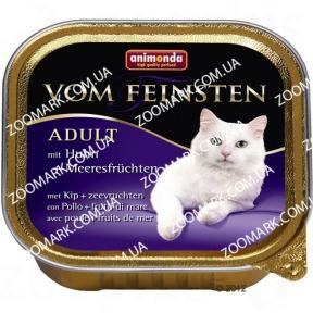 Animonda Vom Feinsten Курица и Морепродукты для кошек 100 г