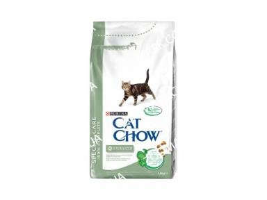 Cat Chow Special Care Sterilized для кастрированных кошек 1,5 кг