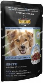 Belcando  Утка/Рис/Брусника  консервы для собак 300 г