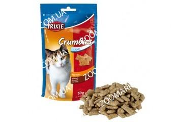 Витамины для кошек Crisbits для выведения комочков шерсти 50гр, Трикси 4262