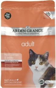 Arden Grange (Арден Грендж) для кошек беззерновой лосось/картофель