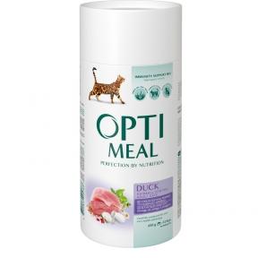 Optimeal с уткой для котов с эффектом выведения шерсти