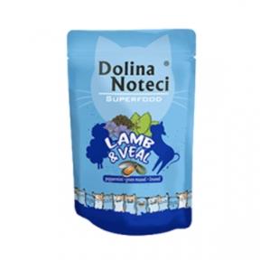 Dolina Noteci Premium Superfood Пауч для котов ягненок, телятина 85гр 304753