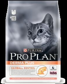 PRO PLAN Derma Plus для взрослых кошек с чувствительной кожей