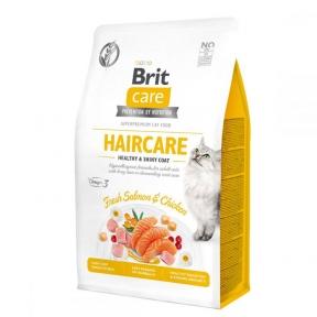 Brit Care Cat Grain-Free Haircare Healthy and Shiny Coat сухой корм для кошек
