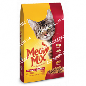 Meow Mix Hairball сухой корм для кошек  6,44кг