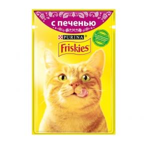 Алюпуч NEW консервы для кошек печенка в подливе 85г