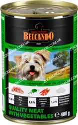 Belcando Отборное мясо/Овощи (зеленый) консервы для собак