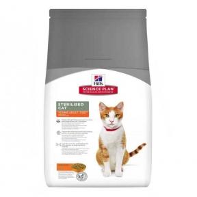 Корм Hills (Хилс) SP Feline Adult Young Sterilised Cat для стерилизованных кошек с тунцом