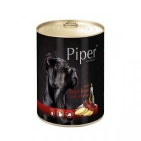 Консервы Piper Dog говядина печень картофель