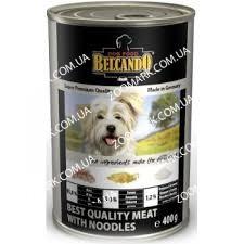 Belcando Отборное мясо с Лапшой (белый) консервы для собак