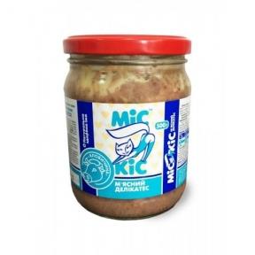 Мис Кис консервы для кошек с мясом говядины 500г