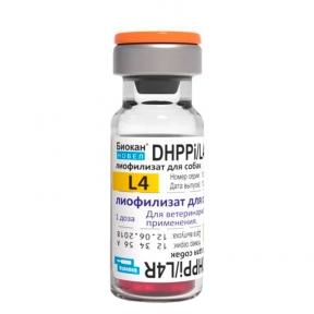 Новел Биокан DHPPi+L4 — вакцина для собак против чумы