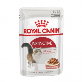 Royal Canin Instinctive (Роял Канин Интенсив) консервы в соусе для кошек 85 г