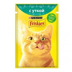 Алюпуч NEW консервы для кошек утка в подливе 85г