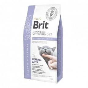 Brit Cat Gastrointstinal VetDiets - сухой корм для кошек при нарушении пищеварения 2кг