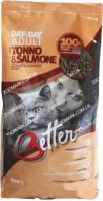 BetterCat Тунец Лосось сухой корм для кошек