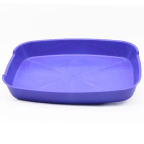 Туалет для котов Днепр без сетки 365*275*50 мм синий
