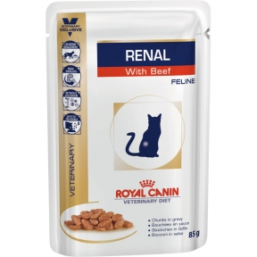 Royal Canin Renal консервы VD  Beef Cat 85 г