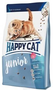 Happy cat Supreme корм для котят Юниор