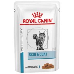 Royal Canin Skin and Coat (SIG) консервы для котов 85г