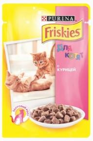 Friskies для котят курица в подливе