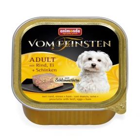 Вом Фенштейн консерва для собак говядина, яйцо и ветчина 150г 826679