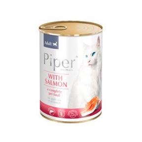 Dolina Noteci Piper cat Консерва с лососем для кошек 400г 302186