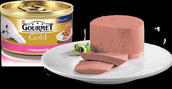Gourmet Gold МУСС с говядиной