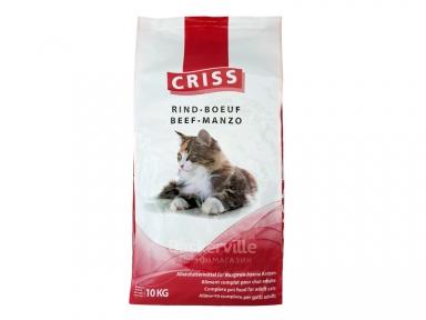 CRISS Говядина сухой корм для котов