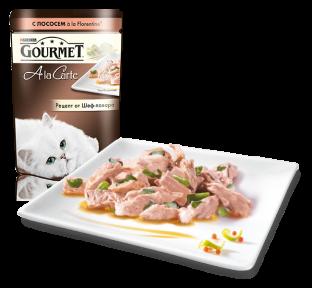 Gourmet Ala Carte лосось с овощами в подливе