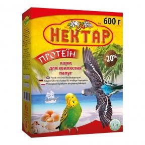 Корм Нектар Протеин для волнистых попугаев 600г, Лори